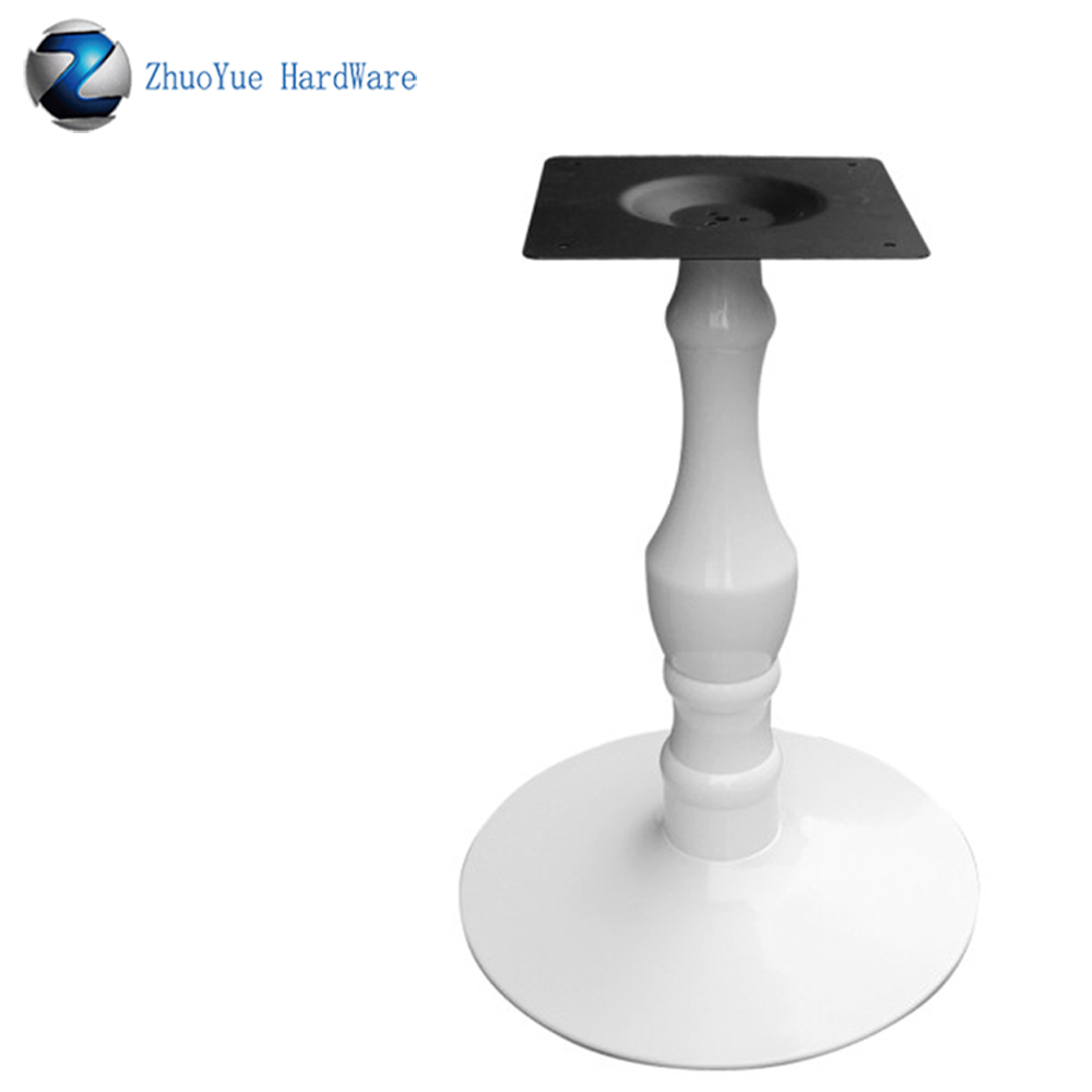 Zhuoyue Outdoor Furniture Classic Design White Powder Coated Crank Cafe Table Legs Round Metal Coffee Table Bases For Sale Furniture Legs Aliexpress