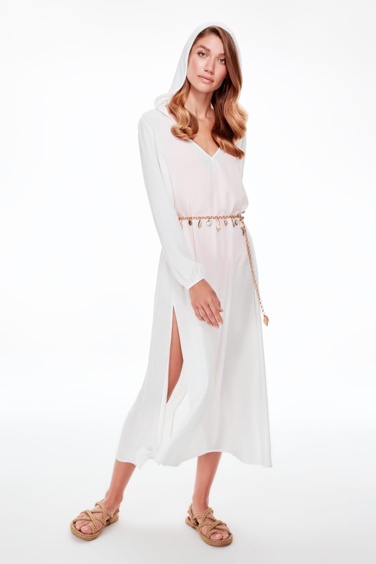 Trendyol Hat Beach Dress TBESS19EL0561