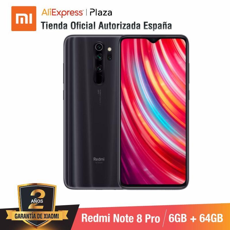 Фото. Red mi Note mi 8 Pro 64 Гб rom con 6 ГБ ram, charmara de 64 MP, Android, Nuevo, Movil [telefono Mo
