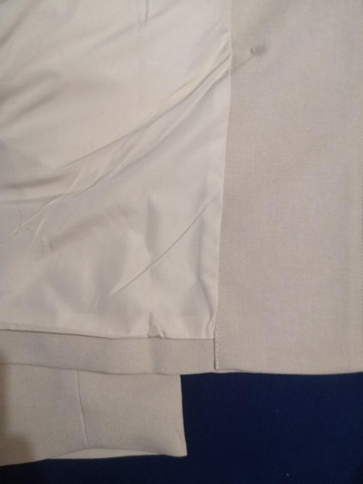 Autumn Winter  Women Lace Up Pant Suit Notched Blazer Jacket & Pant Office Wear Suits Female Sets reviews №3 115318