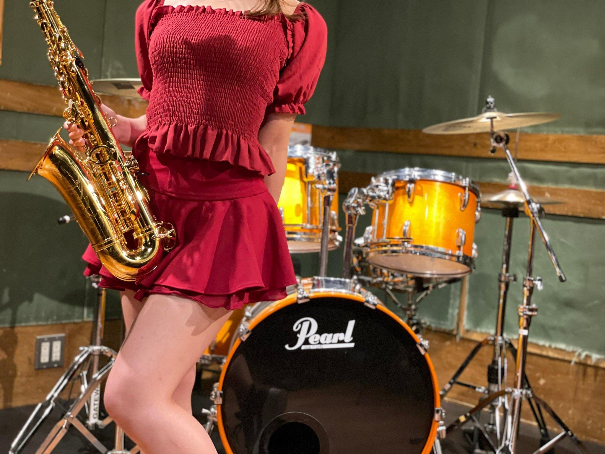 会吹萨克斯風的日本女孩:Ririka/Sax插图6