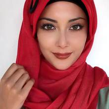 Yeni Moda Başörtüsü 2021 Kadın Müslüman Başörtüsü İslami Kıyafet Eşarp kemik Fular Türban Siyah Tokalı Kırmızı Renk Hazır Şapka Şal