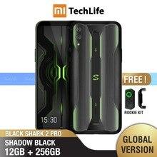 Globale Version Xiaomi Schwarz Shark 2 Pro 256GB ROM 12GB RAM GamingPhone (Marke Neue/Versiegelt) blackshark Smartphone Mobile