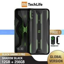 Xiaomi shark 2 pro versão global, 256gb rom, 12gb ram, gamingphone (novo/selado) smartphone blackshark
