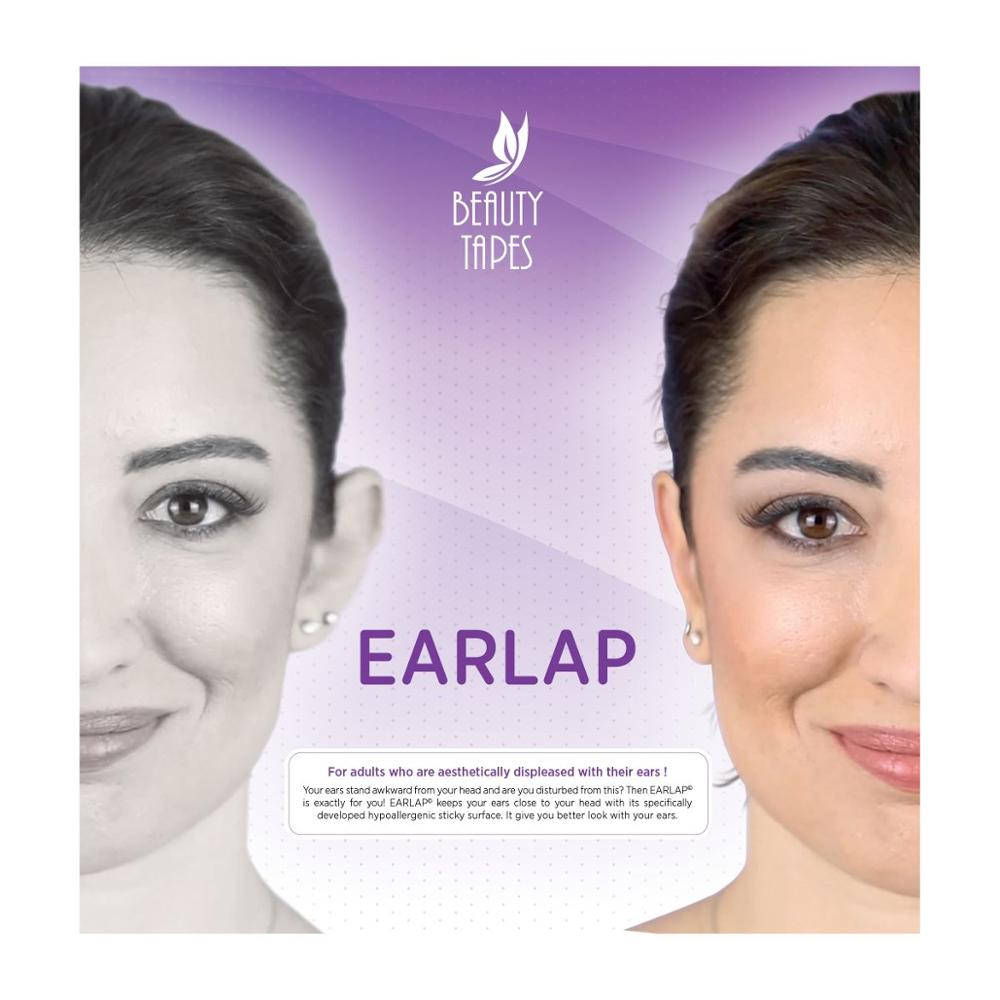 Beauty Tapes EARLAP Ear concealer  Corrector instant effect sticking system for protruding ears durable
