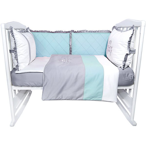 Cot set Edelweiss Versailles, 6 pieces