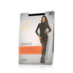 Женские чулки Grido della Moda Desire 20den Nero 3 размер