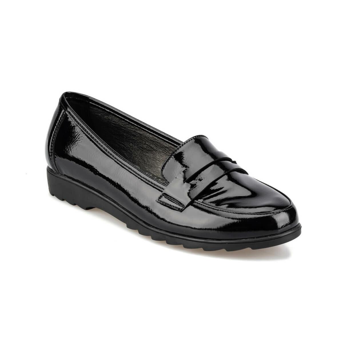 FLO 92.151006.Z Black Women Loafer Shoes Polaris