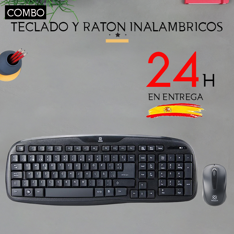 Wireless Keyboard And Mouse 2.4G