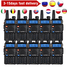 10 единиц в режиме реального 8 Вт uv 5r иди и болтай walkie