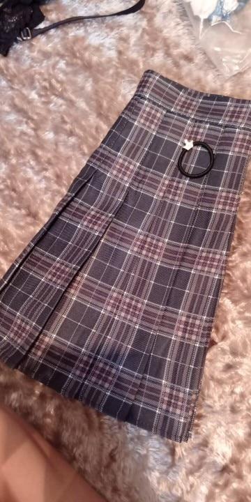 QRWR XS 3XL Plaid Summer Women Skirt 2020 High Waist Stitching Student Pleated Skirts Women Cute Sweet Girls Dance Mini Skirt|Skirts|   - AliExpress