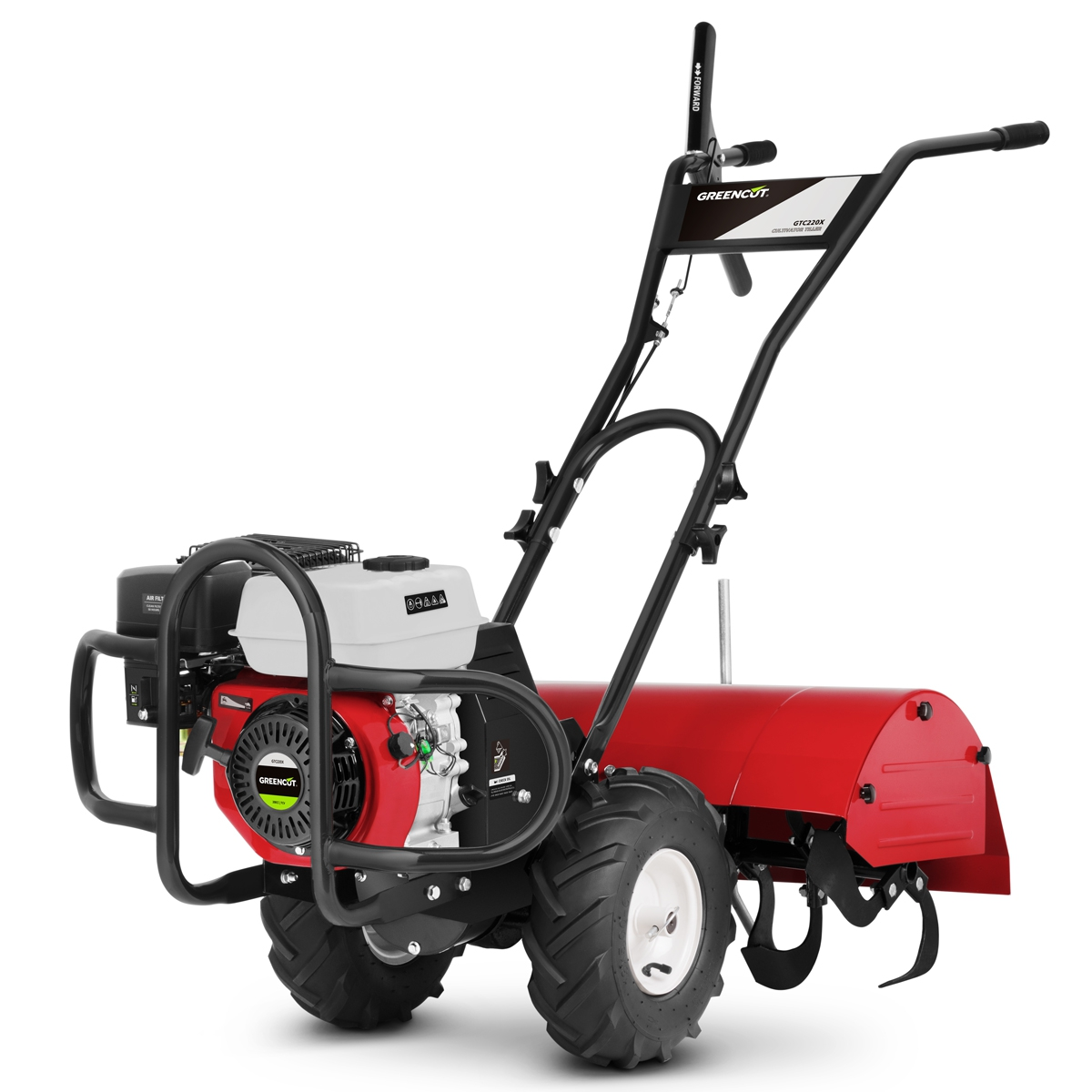 Rototiller Gasoline 7sv Working Width 70cm Powerful And Manageable-GREENCUT