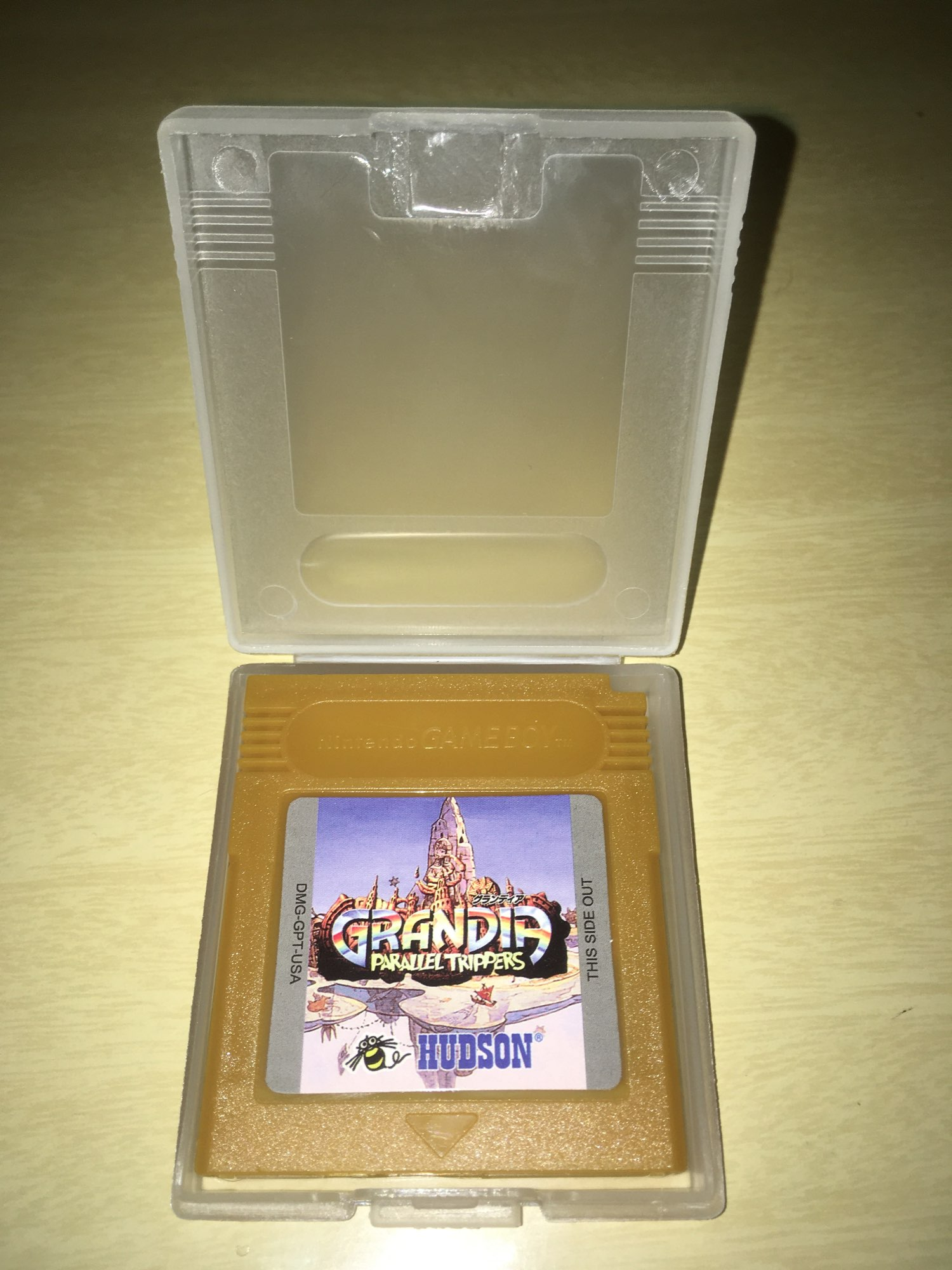 For Nintendo GBC Video Game Cartridge Console Card Grandia Parallel Trippers English Language Version photo review