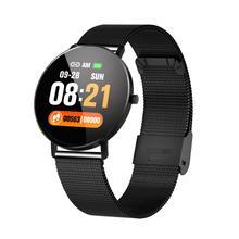 цена на Accalia F25 Smart watch Full Screen Touch GPS Tracker Heart rate Blood Pressure Monitor Smart Wristband Sport Smart bracelet