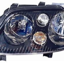 Headlight 2003 Volkswagen Controlled Image-May-Be-Mirrored Car Passenger-Side EU Electrically