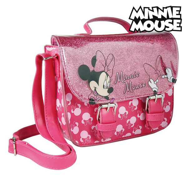 Shoulder Bag Minnie Mouse 72889 Fuchsia