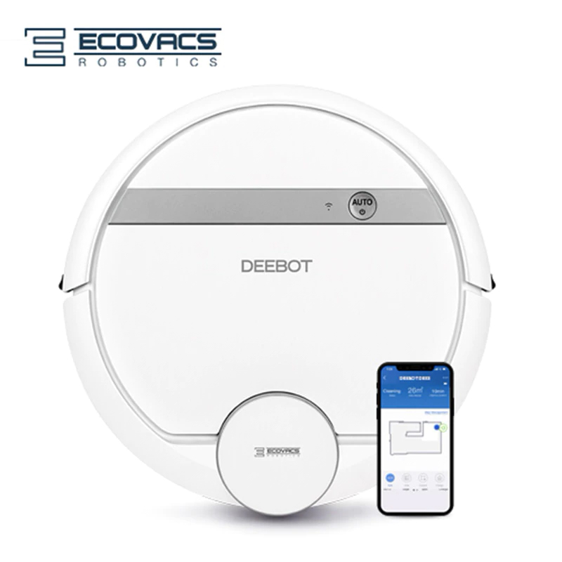 Robot vacuum cleaner ECOVACS DEEBOT DE55 wireless for home household home appliances цена