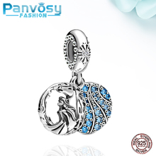 New Aisha Mano Sterling Silver 925 Bead Fit Pandora Charms Silver 925 Original Bracelet 2020 Jewelry Making Charm Beads DIY Gift цена 2017