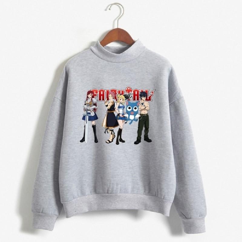 Fairy Tail Printed Long-Sleeved Hoodie Casual Graphic Tops Sweatshirts Hoodies