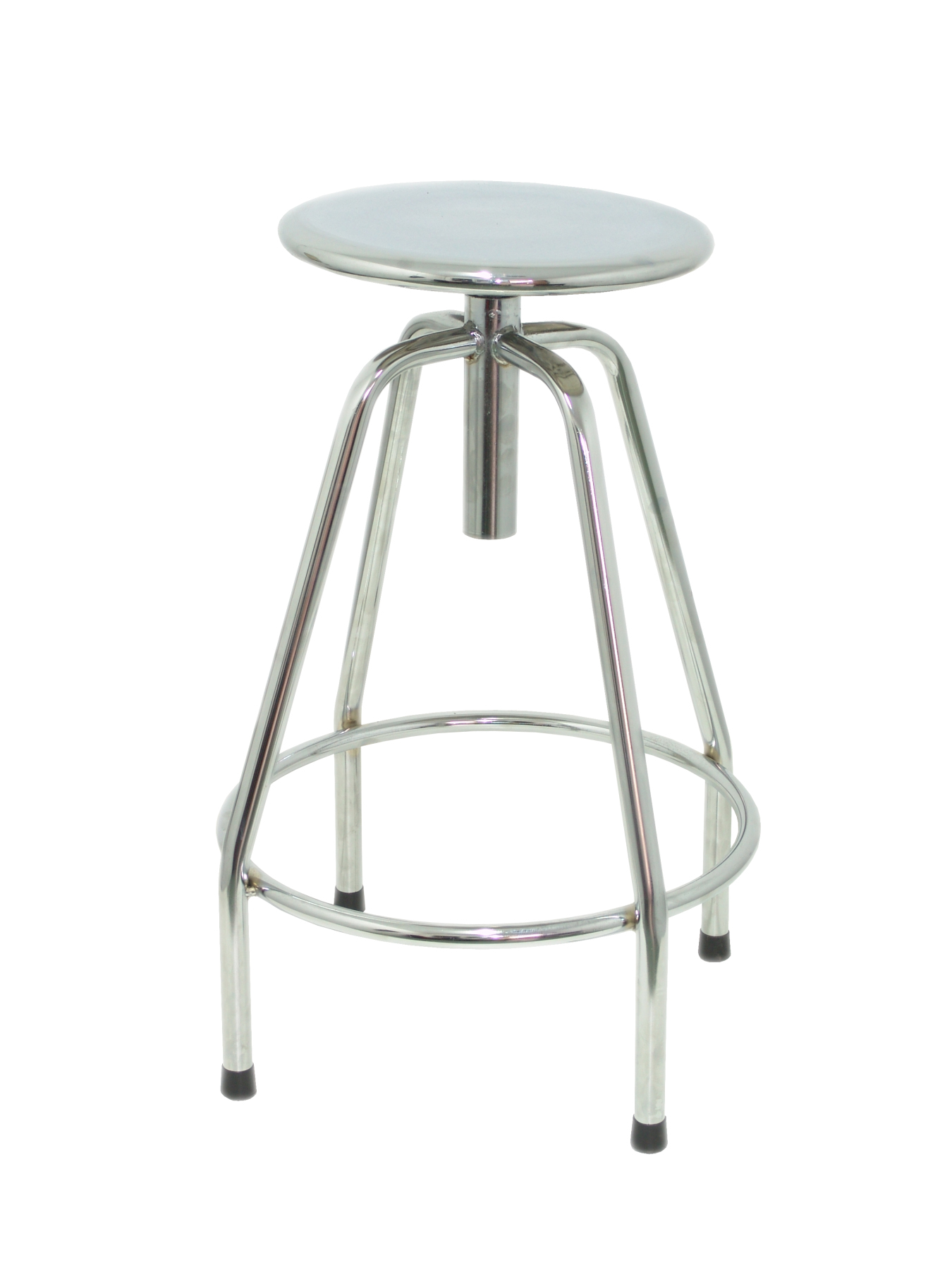 Stool's Multipurpose And Detachable Swivel 4 Topsy Underwire Foot Pegs Chrome-up Seat From Steel TAPHOLE AND CURLED M