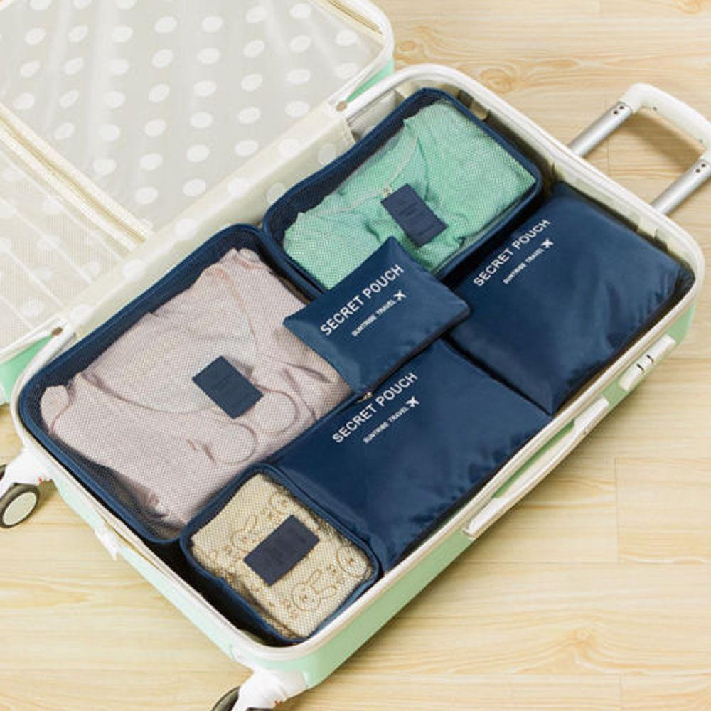 Местный запас 6 шт. водонепроницаемые дорожные сумки одежда чемодан Органайзер сумка Упаковка распродажа - Цвет: 6