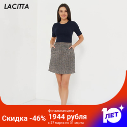 Ottavia Lacitta viscose short-sleeve cardigan sweater female knitted pullover soft warm stretch short sleeve fashion spring
