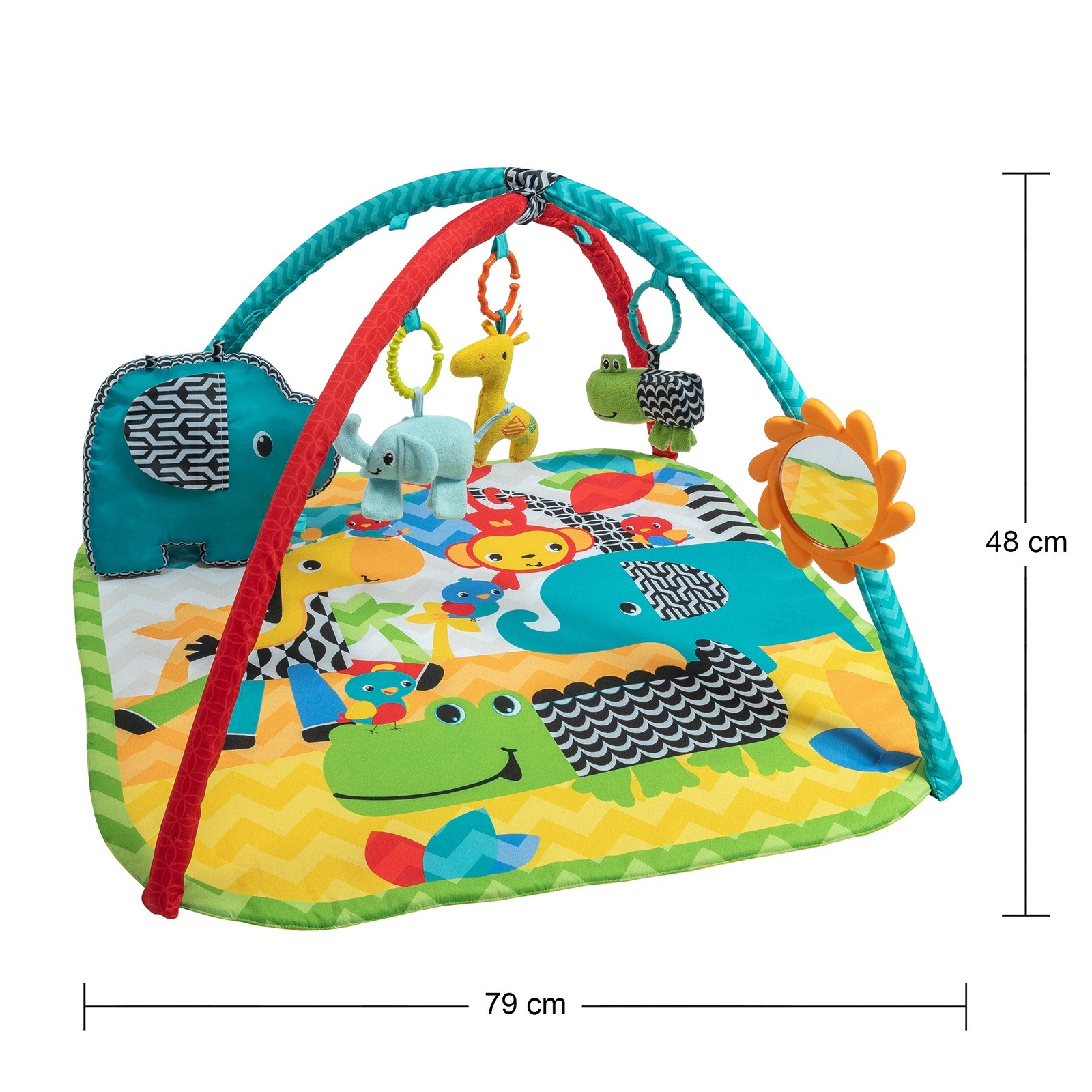 Ebebek Bondigo Forest Best Friends Baby Game Carpet