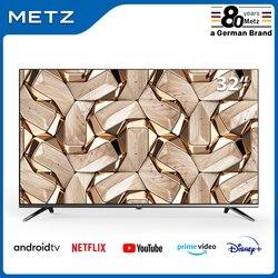 Fernsehen 32 ZOLL SMART TV METZ 32MTB7000 ANDROID TV 9,0 Rahmenlose Google Assistent STIMME FERNBEDIENUNG 2-Jahr Garantie