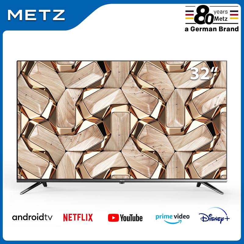 Television 32INCH <font><b>SMART</b></font> <font><b>TV</b></font> METZ 32MTB7000 ANDROID <font><b>TV</b></font> 9.0 Frameless Google Assistant VOICE REMOTE CONTROL 2-Year Warranty image