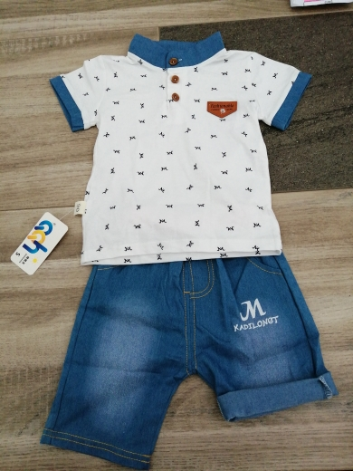 Boys Clothes Sets 2021 Summer Kid T-shirt shorts 2pc Baby Toddler Outfit Sport Suit For 1 2 3 4 Years Costume Children Clothing photo review