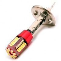 LED car lamp H1 h3 57 SMD 3014 + blende dled
