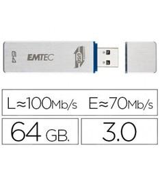 USB памяти EMTEC фонарик 64 ГБ 30 100 МБ/с.