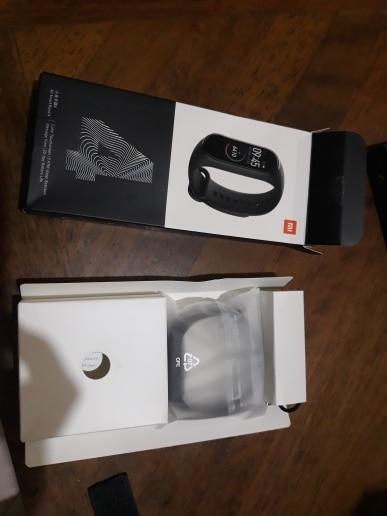 Xiaomi Mi Band 4 Smartband Preto Original Lacrado photo review