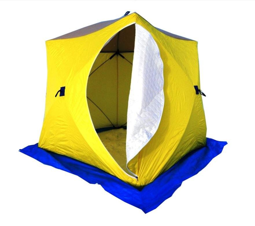 Zelt Stek куб-3 (drei schicht), waren für fischerei, tourismus, waren für winter angeln