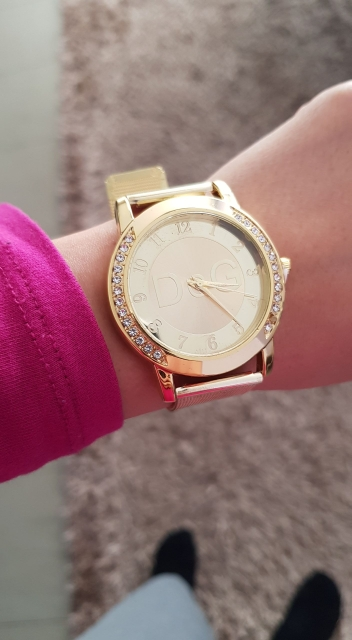 2020 new European fashion popular style women luxury watch brand Quartz watches Reloj Mujer casual stainless steel watches photo review