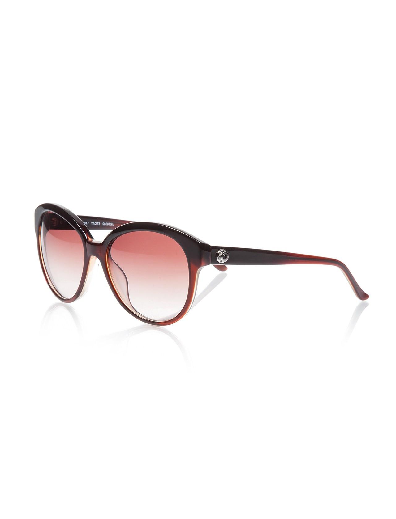 Women's sunglasses jr 783 02 57 bone Brown organic oval aval 57-17-140 john richmond
