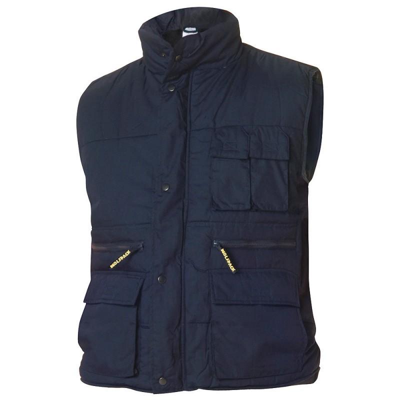 Work Vest Multi-Pocket Blue XL