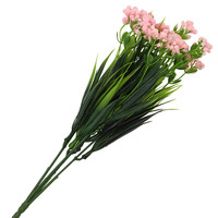 Ar372 bouquet of artificial flowers 32 cm (pink)