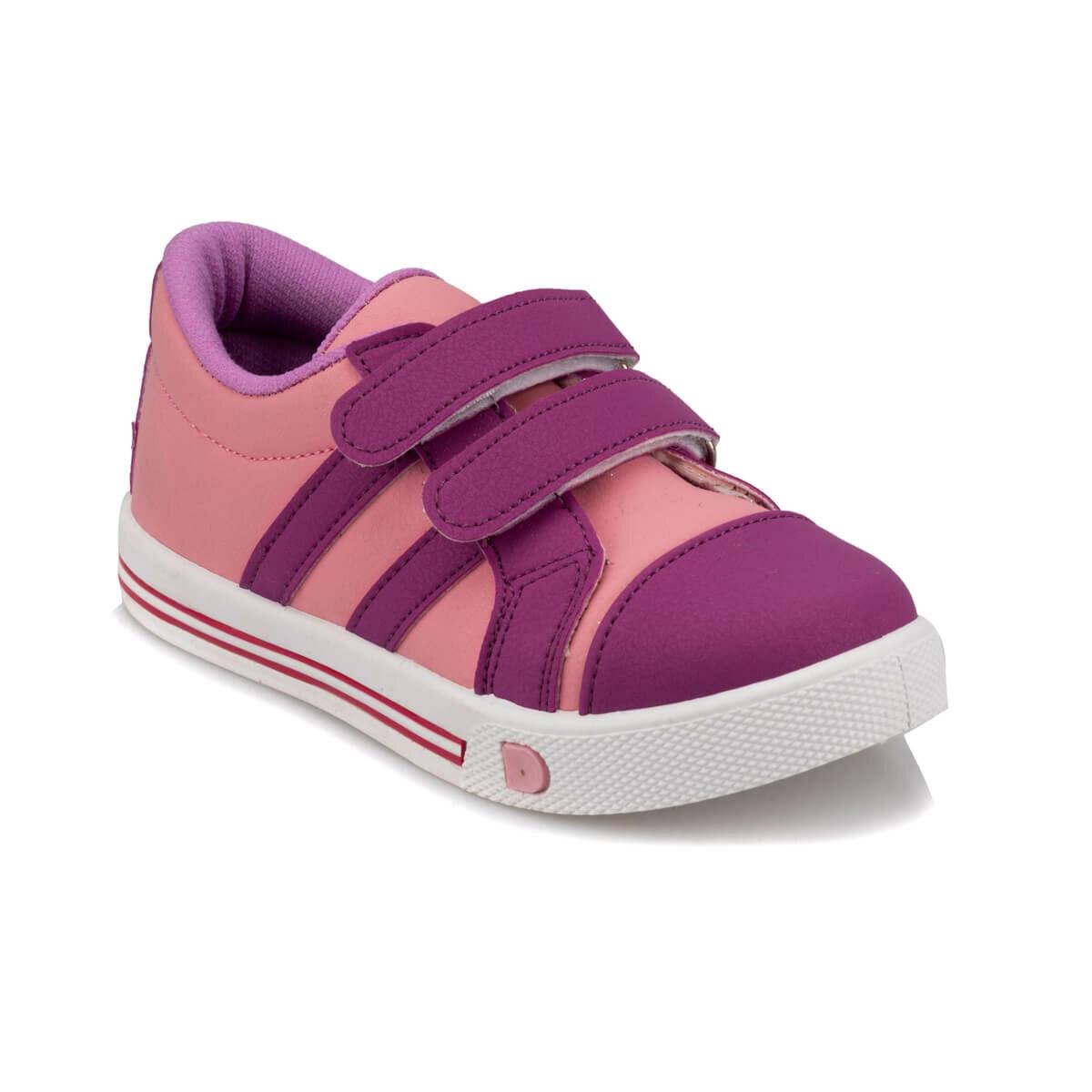 FLO 92. 511749.P Silver Female Child Sneaker Shoes Polaris