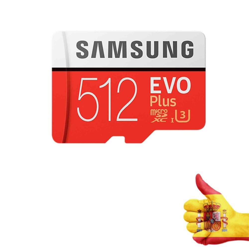 MEMORY CARD FLASH SAMSUNG ORIGINAL EVO PLUS 512 Hard GB (MB-MC512GA/EU)