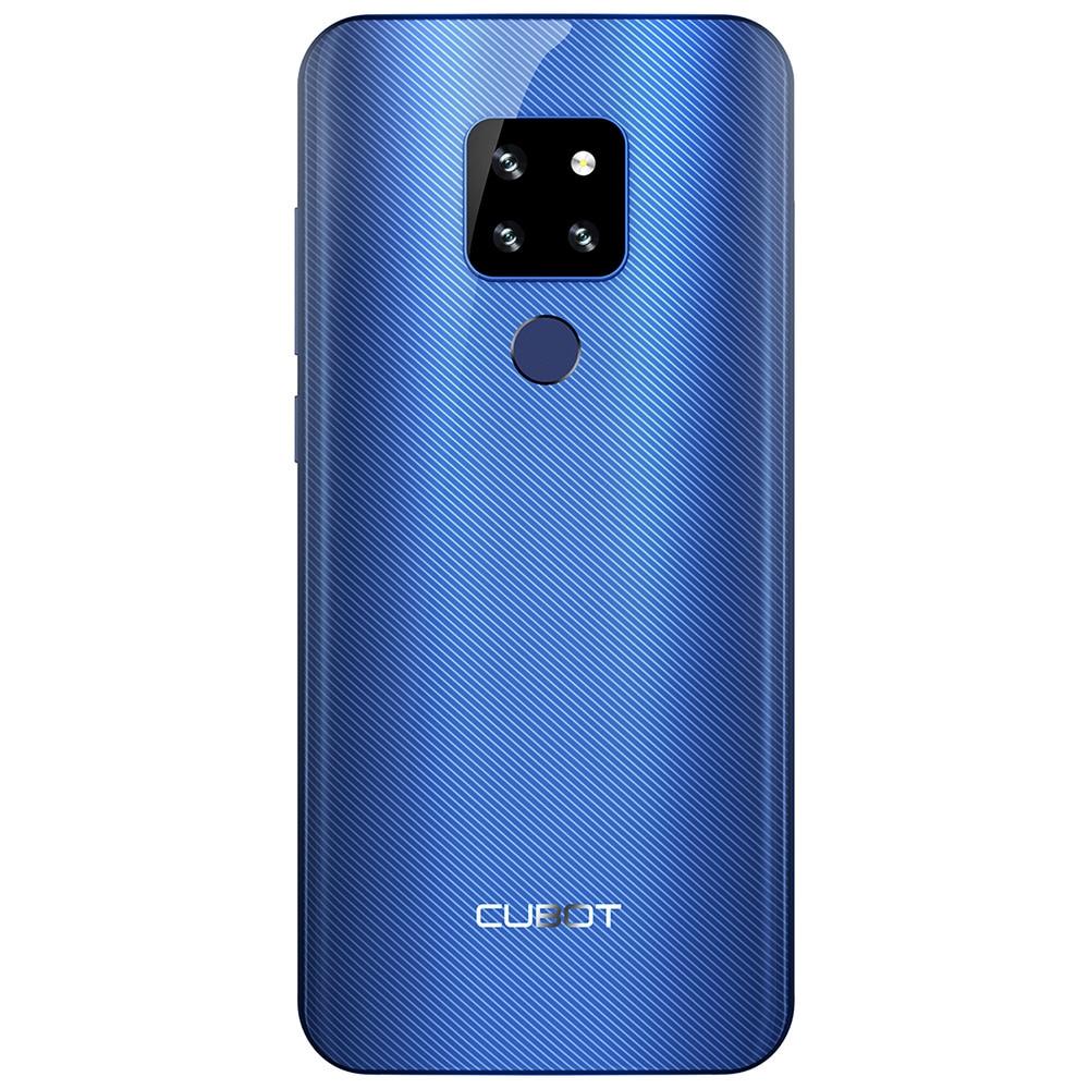 Cubot p30 smartphone 6.3 2340x1080 p 4 gb + 64 gb android 9.0 torta helio p23 ai câmeras face id 4000 mah telefone celular para dropshipping - 2