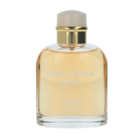 DOLCE GABBANA LIGHT BLUE SUN AND POUR HOMME EDT 75ML SPRAY