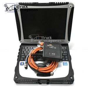 Image 5 - Judit Incado Box Diagnostic Kit JUDIT 4 Jungheinrich Linde canbox Still forklift Diagnose tool canbox doctor STILL+CF19 laptop