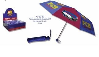 Paragua Child Folding F. C. Barcelona
