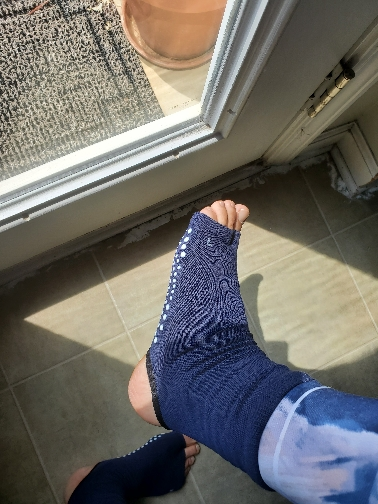 Women's Open Toe and Heel Yoga and Dance Socks photo review