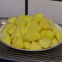 #福气年夜菜#土豆泥鲜虾灯笼高高挂的做法图解5