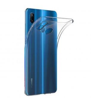 Funda de gel TPU carcasa silicona para movil Huawei P20 LITE TRANSPARENTE