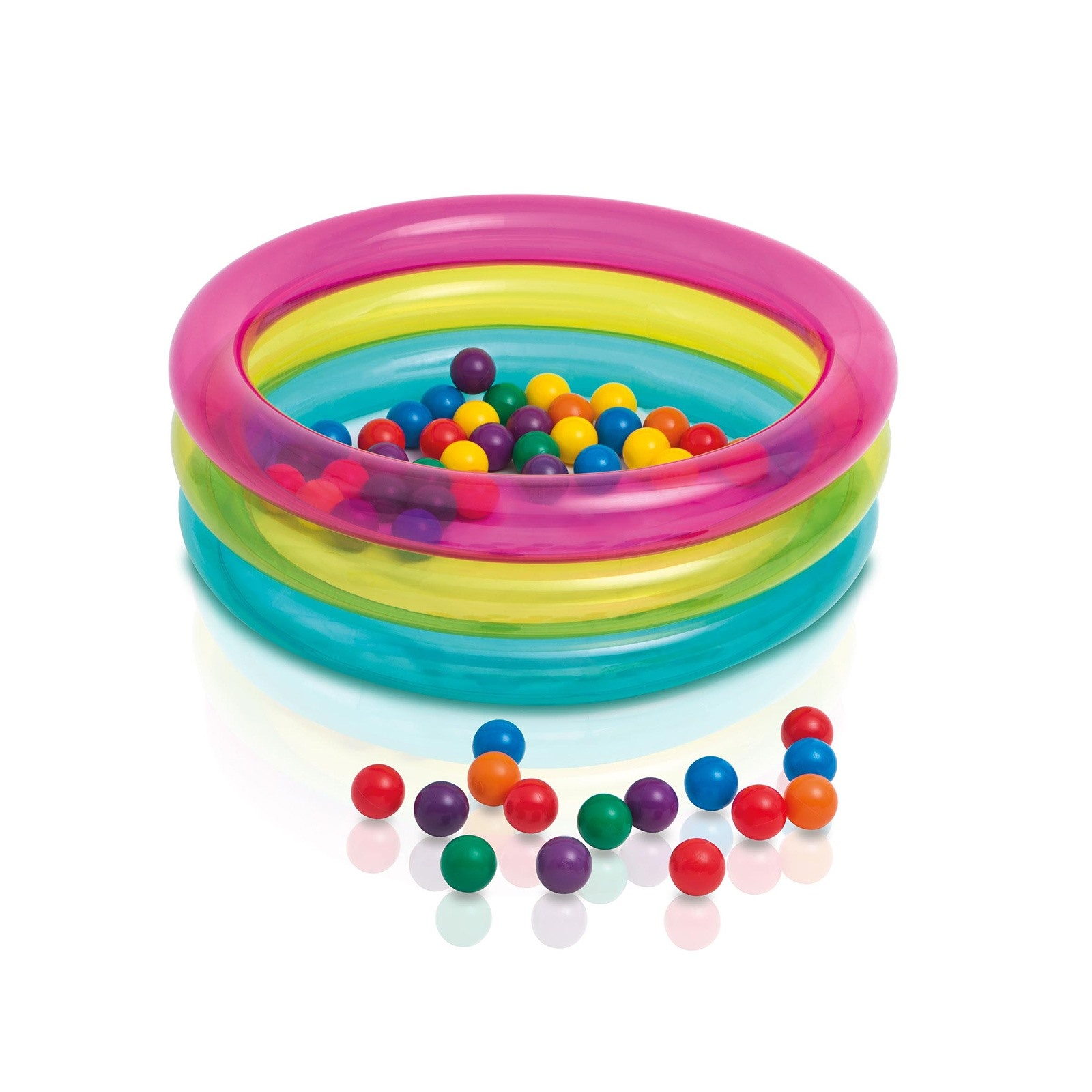 Ebebek İntex Colorful Pool 86x25 Cm
