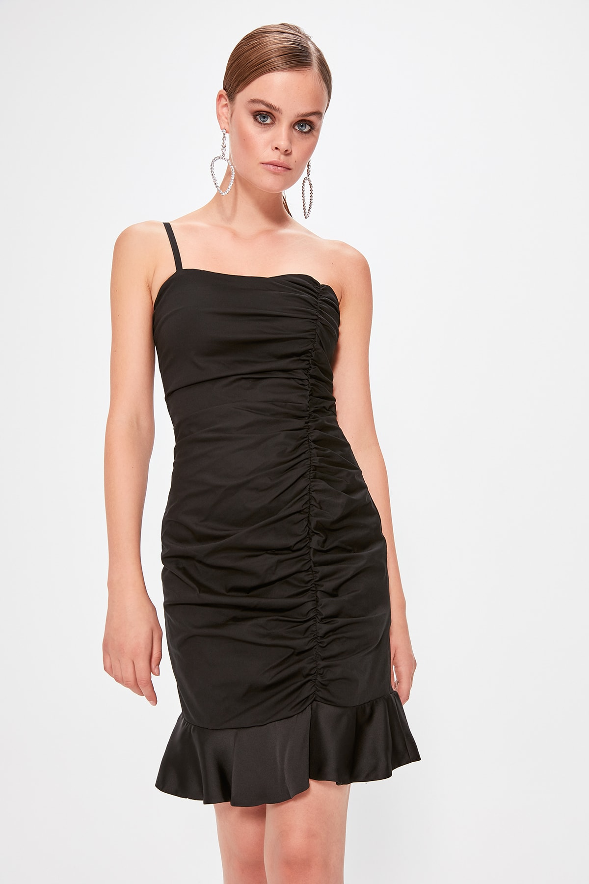 Trendyol Drape Detail Dress TPRSS19FZ0253