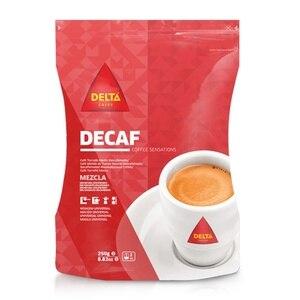 Decaffeinated coffee blend 250g DELTA ground coffee